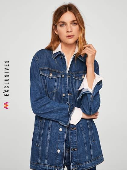 Women Denim Jacket Buy Women Denim Jacket Online In India