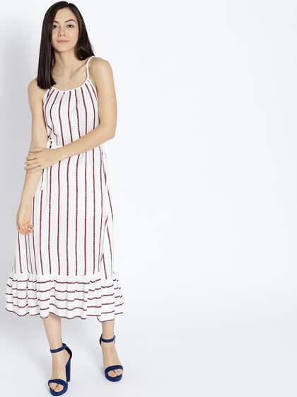 5a45542d04 White Linen Dresses - Buy White Linen Dresses online in India