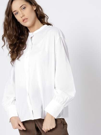 fbc754e2dd Women Shirts - Buy Shirts for Women Online in India | Myntra