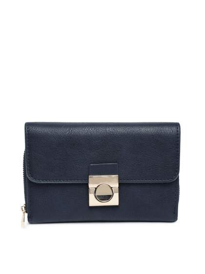 b38e901f1921 Accessorize. Women Solid Three Fold Wallet