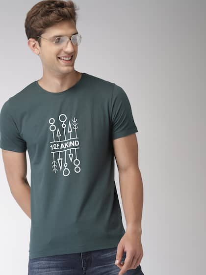 6c5bd8080a Mast   Harbour. Printed Round Neck T-shirt