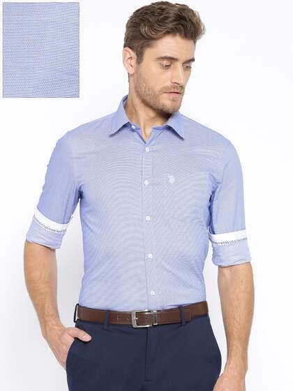 U S Polo Assn Men Tailored Fit Casual Shirt