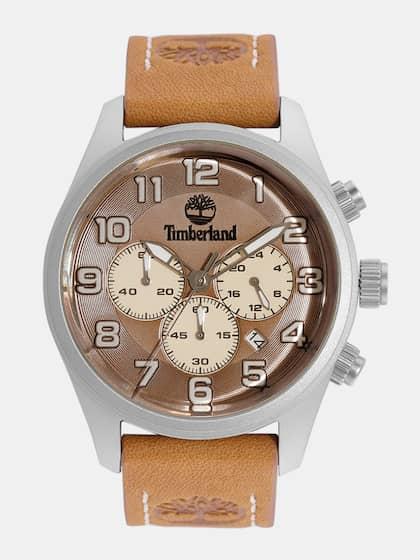 da9609e1781 Timberland Men Brown   Cream-Coloured Chronograph Analogue Watch  TBL.15014JS 20A