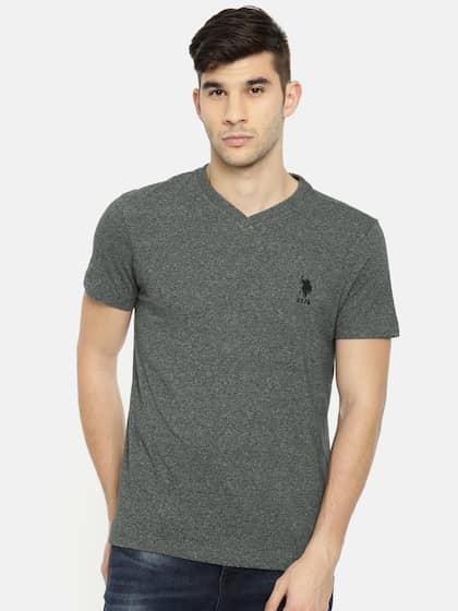 1471acb6639 U S Polo T-Shirts - Buy U S Polo T-Shirts For Men & Women | Myntra
