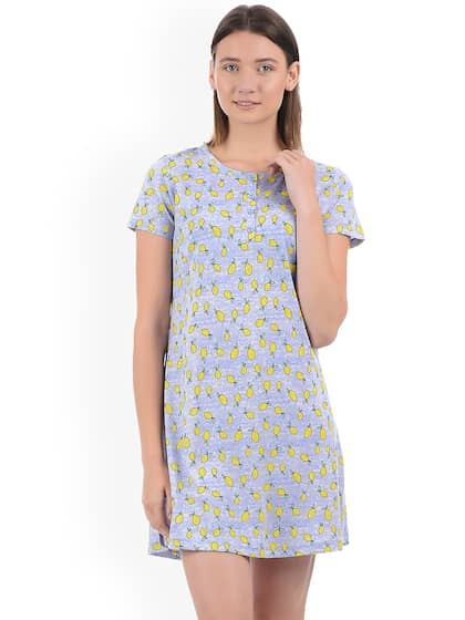 758f0286255d1 Cotton Nightdresses - Buy Cotton Nightdresses Online in India