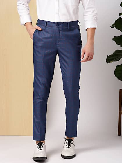 c5f5b55212 INVICTUS. Men Slim Fit Formal Trousers