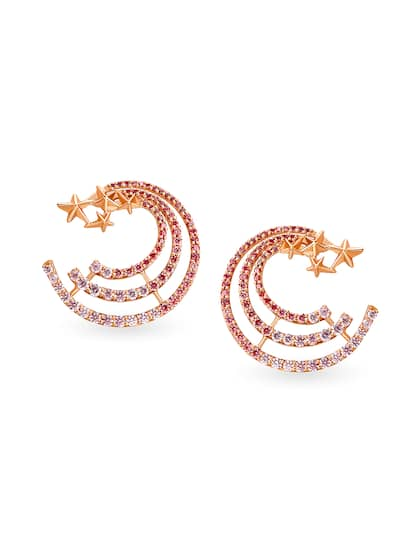 a447d447f Gold Earrings - Buy Gold Earrings for Girls & Women Online | Myntra