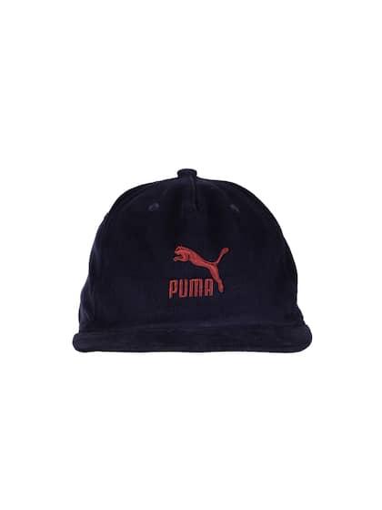 e7f02d94699 Puma Unisex Navy Blue Solid ARCHIVE Downtown Baseball Cap