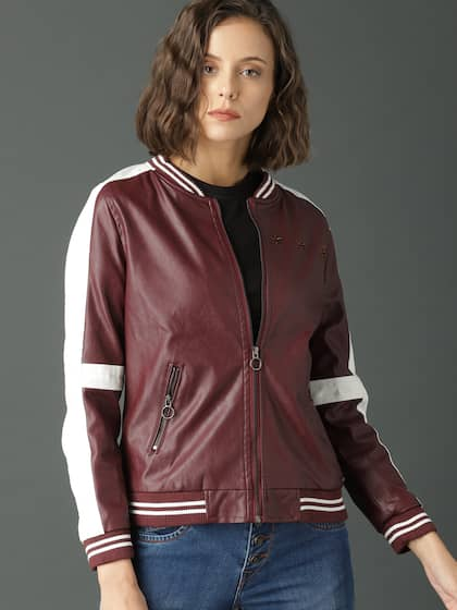53ba0135b9c4d Jackets for Women - Buy Casual Leather Jackets for Women Online