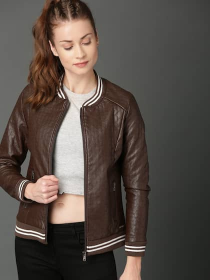 07ce82b758b Jackets for Women - Buy Casual Leather Jackets for Women Online