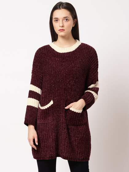 d997edaa65 Sweaters for Women - Buy Womens Sweaters Online - Myntra