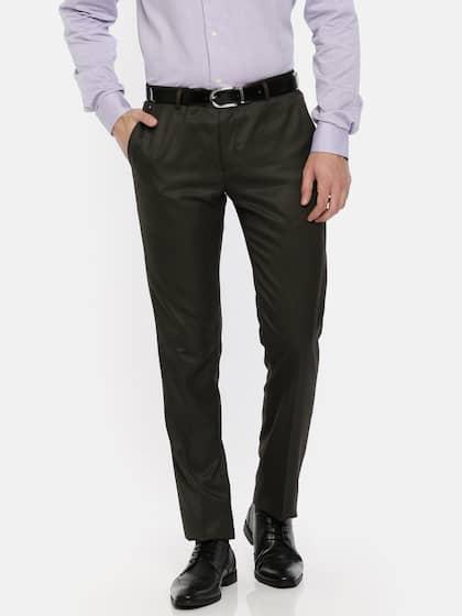 9fbdbe3be40 Blackberrys. Men Slim Fit Formal Trousers