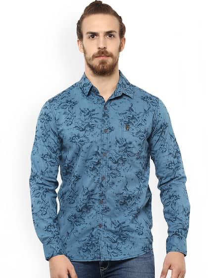 7cc7b67ff6c2 Mufti Shirts - Buy Mufti Shirt For Men Online in India | Myntra