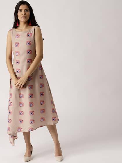 f70b6f077 Long Dresses for Women - Buy Ladies Long Dresses Online | Myntra