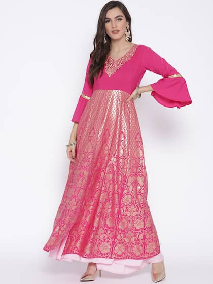Anarkali Kurtis Shop Anarkali Kurti For Women Online Myntra