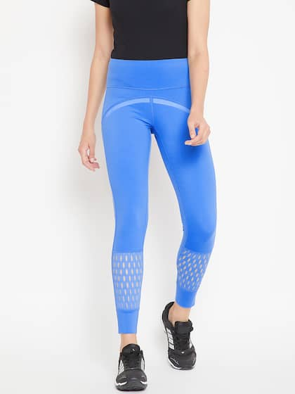 2e389fde16637 Adidas Blue Tights - Buy Adidas Blue Tights online in India