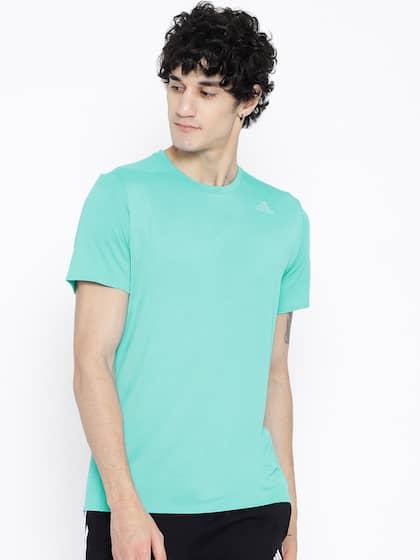 Adidas Sea Green Supernova Solid Running Tshirt