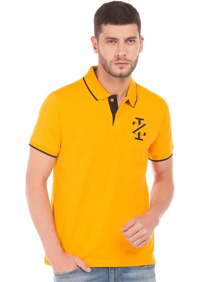 08e822654c4 Men T-shirts - Buy T-shirt for Men Online in India   Myntra
