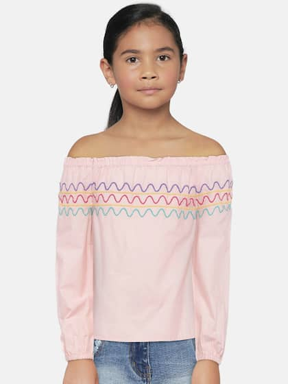 9c5c8e6ad1 Girls Tops - Buy Stylish Top for Girls Online in India