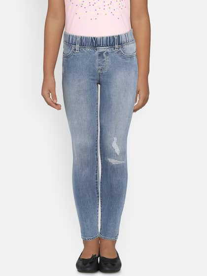 Gap Denim Toddler Girls Size 3 High Stretch Jeggings Brand New With Tags Girls' Clothing (newborn-5t)