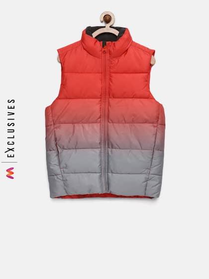 226e9f4021cab3 Boys Sleeveless Jackets - Buy Boys Sleeveless Jackets online in India