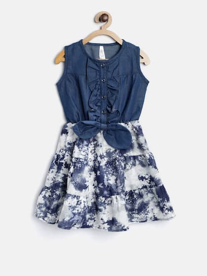 41352d6f7a1 Girls Dresses - Buy Frocks   Gowns for Girls Online