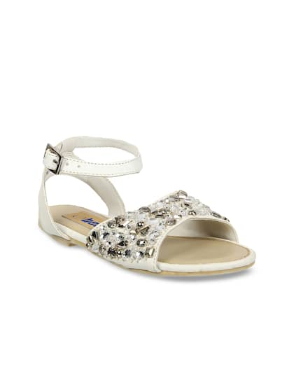 b1285670cda White Sandals - Buy White Sandals Online in India