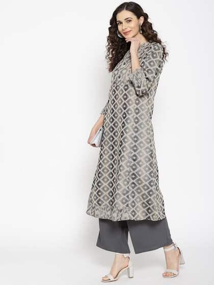 a8c3aeb9475 Kurtis Online - Buy Designer Kurtis & Suits for Women - Myntra