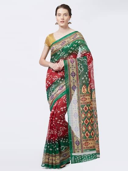 2099b35b1dd Bhagalpuri Saree - Shop Bhagalpuri Sarees Online - Myntra