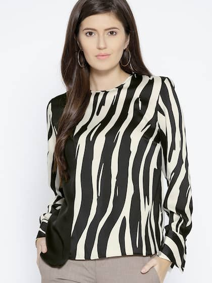 daf57c8259 Animal Print Tops - Buy Animal Print Tops online in India