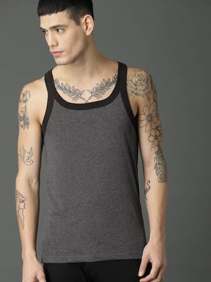 cd962606d292b Vests For Men - Buy Mens Innerwear Vests Online - Myntra
