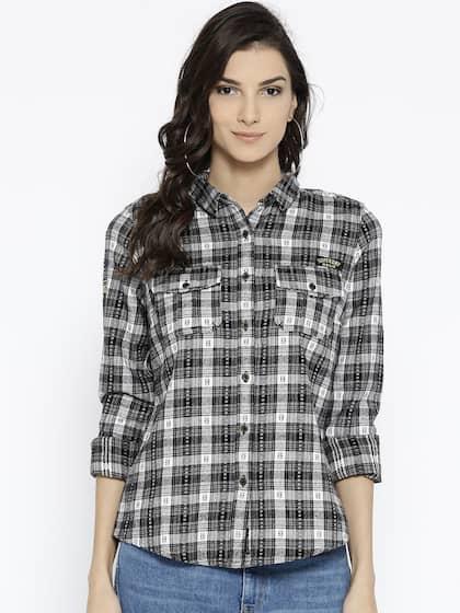 4167af8b624fb Superdry Shirts - Buy Superdry Shirt Online in India   Myntra
