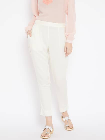 65439c1dc3a6 Women's Trousers - Shop Online for Ladies Pants & Trousers in India ...