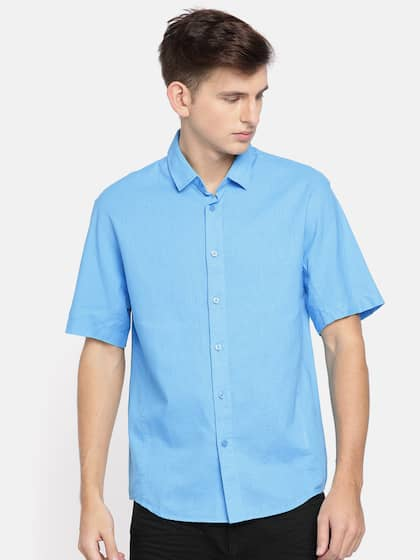 051082ac8c9 Short Sleeve Shirts - Buy Short Sleeve Shirts Online in India