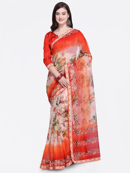 150a8d70a5 Cotton Sarees - Buy Cotton Sarees Online in India | Myntra