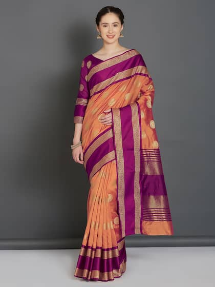 c9669be587f8fd Banarsi Saree - Authentic Banarsi Sarees Online - Myntra