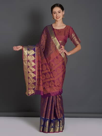fb2c5e9c874106 Banarsi Saree - Authentic Banarsi Sarees Online - Myntra