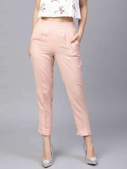 1a9922a45739 Women's Trousers - Shop Online for Ladies Pants & Trousers in India ...