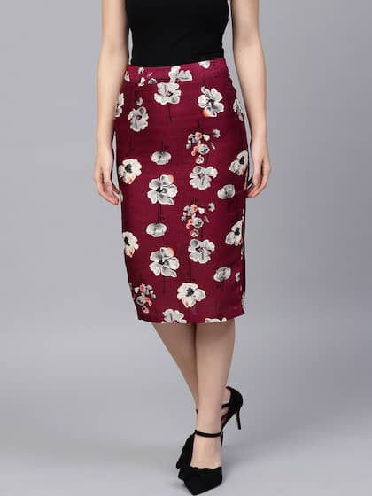 7e9ccba62c Pencil Skirt - Buy Pencil Skirt online in India