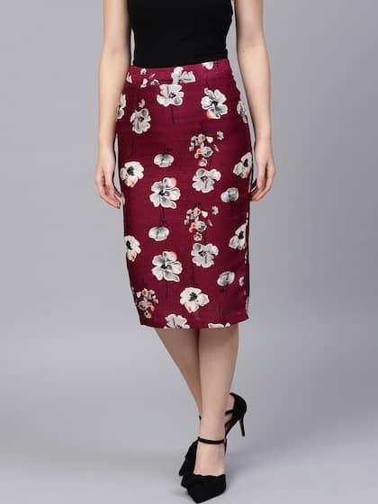 30f11a31a8 Skirts for Women - Buy Short, Mini & Long Skirts Online - Myntra