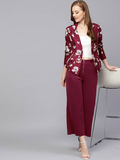 7762bdd095b58 Women Blazers Online - Buy Blazers for Women in India