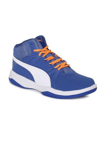 c204c812be822f Puma Men Blue Tops Sports Shoes Casual - Buy Puma Men Blue Tops ...