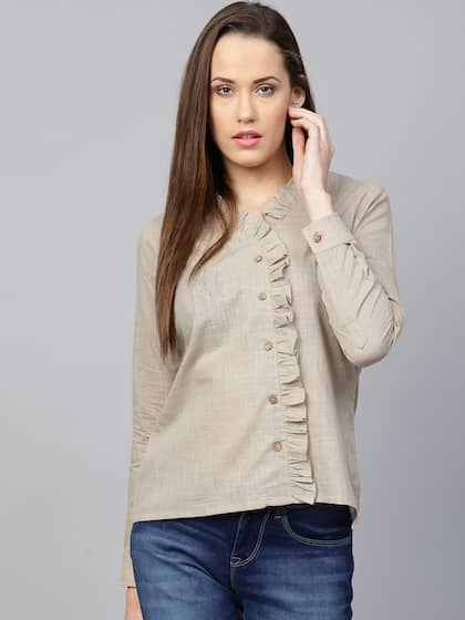 94b373659fd Ladies Tops - Buy Tops & T-shirts for Women Online | Myntra