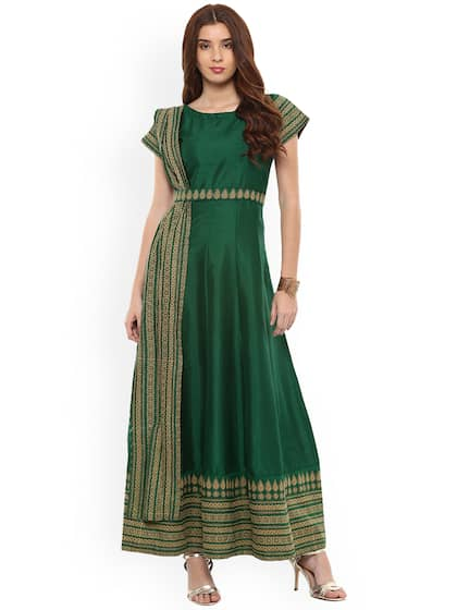 8b865db65f Long Dresses - Buy Maxi Dresses for Women Online in India - Upto 70% OFF