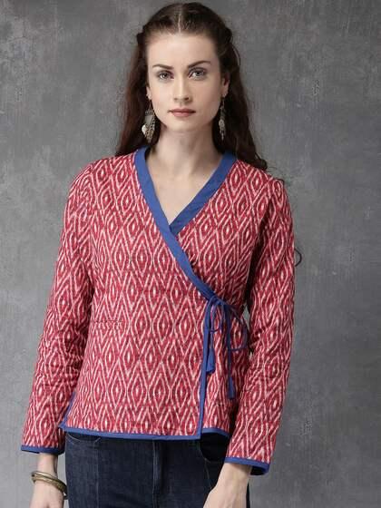 Women Ethnic Wear Jackets Buy Women Ethnic Wear Jackets Online In
