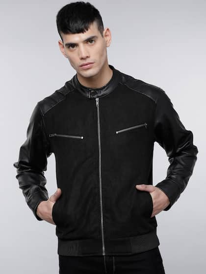 84e4dd3d5265f Leather Jackets - Buy Leather Jacket Online in India