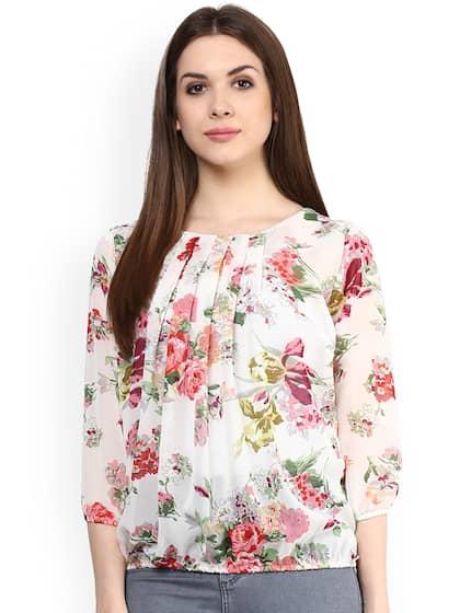 6d5dc1850b Tops - Buy Designer Tops for Girls   Women Online