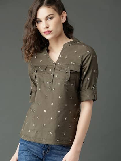 0149da618d59c0 Cotton Tops - Buy Stylish Cotton Tops Online