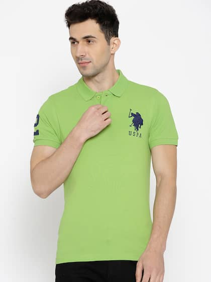 8d3150327ab217 Collar T-shirts - Buy Collared T-shirts Online | Myntra