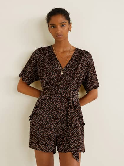 610aa95e14a Mango Jumpsuit - Buy Mango Jumpsuit online in India